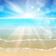beautiful sea background