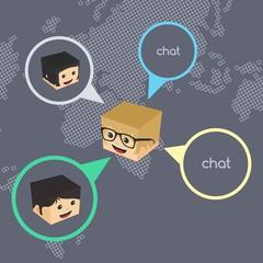 block cartoon network chat