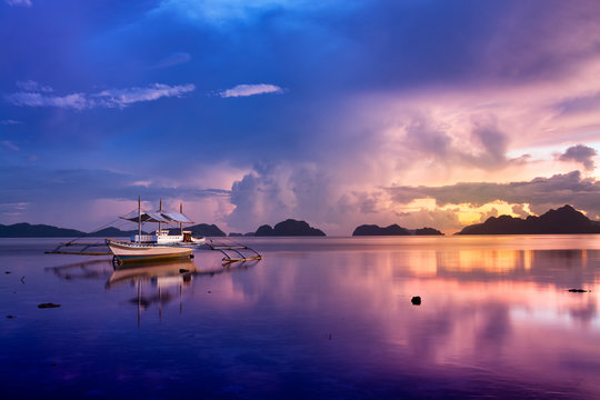 Sunset in El Nido, Palawan - Philippines