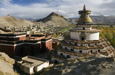 Gyantsie Fort and Kumbum - Tibet