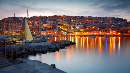 Recess Fitting Athens Yachts in Mikrolimano marina in Piraeus, Athens.