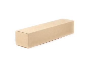close up brown paper box