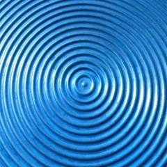 Abstract circle metal plate.