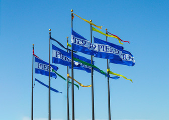 Pier 39 flag