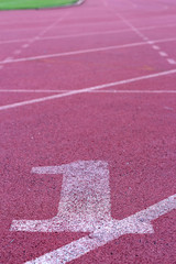 Running track - for the athletes
