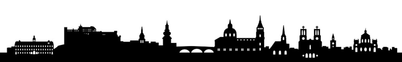 Skyline Salzburg Österreich