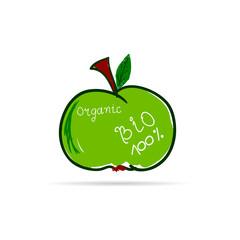 apple organic vector