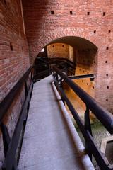 Sforza castle Milan - ducal courtyard interior