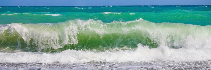 Autocollant pour porte Eau Морская волна