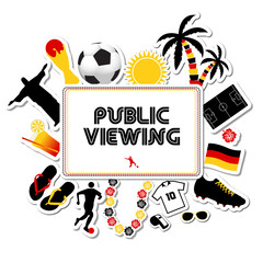 Public Viewing Germany Worldcup 2014