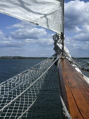 Sailboat in a lake