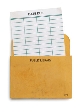 Library Due Card