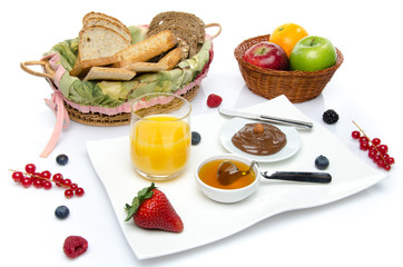 Composition of a breakfast