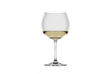 White wine in glass.