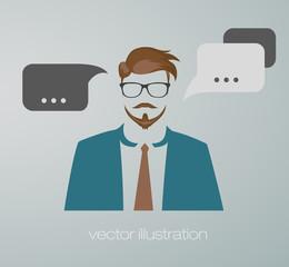 businessman web icon