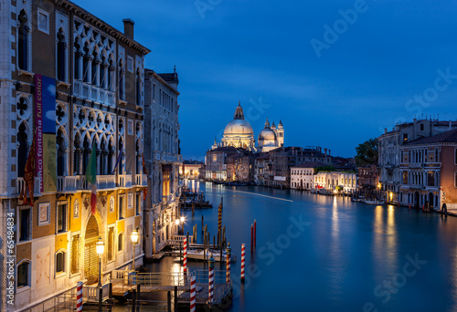 Wall mural Grand canal venice italy
