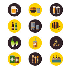 Brewery icons