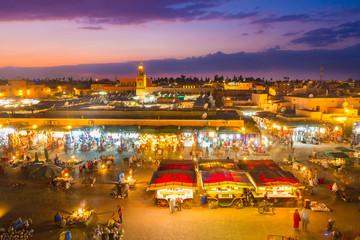 Jamaa el Fna, Marrakesh, Morocco.