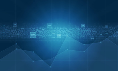 Technology business   finance background