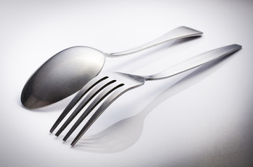 Cutlery set with Fork and Spoon