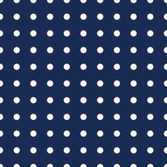 Navyfarbenes Punktmuster nahtlos wiederholbar / fortsetzbar - 65497846