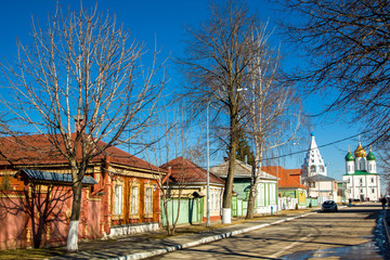 Старые дома в русском стиле
