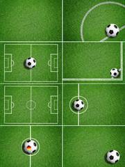 Soccer - Background / Ball