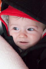 Close-up of a baby boy