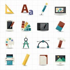 Creativity and Design Icons