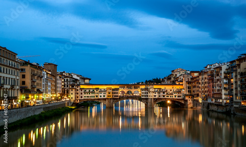 Wall mural Ponte Vecchio Florence Italy
