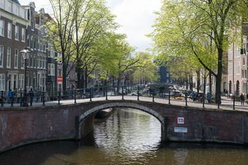 Promenade à Amsterdam