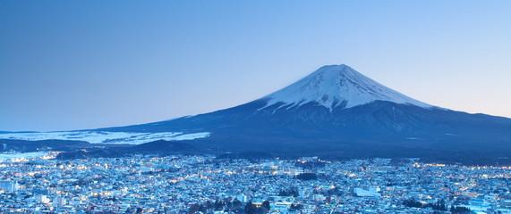 In de dag Japan Mount Fuji, japan