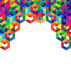 Polygon abstract background
