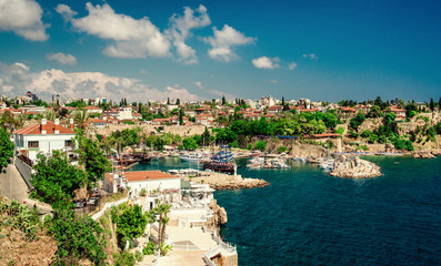 Foto op Aluminium Turkije Antalya harbor. Turkey