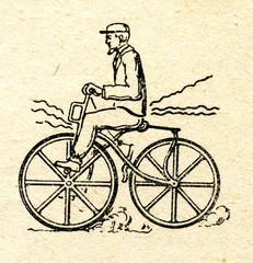 Bicycle ca. 1850