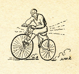 Bicycle ca. 1870