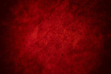 Red horror wall background Wall mural