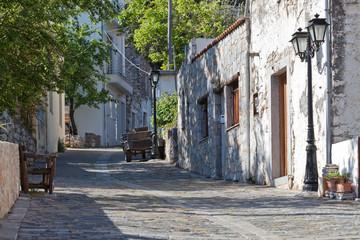 Kreta - Griechenland - Krasi Dorfstraße