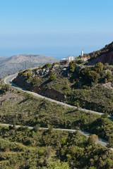 Kreta - Griechenland - Serpentinen bei Krasi