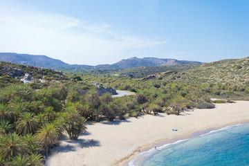 Kreta - Griechenland - Palmenstrand von Vai