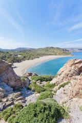 Kreta - Griechenland - In den Bergen von Vai Beach