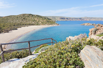 Kreta - Griechenland - Wanderweg nach Vai Beach