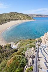 Kreta - Griechenland - Bucht von Vai Beach