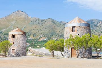 Kreta - Griechenland - Alte Mühlen von Elounda