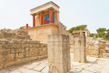 Kreta - Griechenland - Wahrzeichen von Knossos