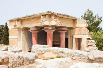 Kreta - Griechenland - Nebengebäude von Knossos