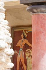 Kreta - Griechenland - Kunst von Knossos