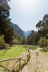 Kreta - Griechenland - Wanderweg durch die Samaria-Schlucht