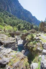 Kreta - Griechenland - Brücke nach Samaria
