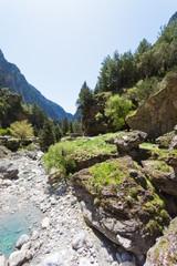 Kreta - Griechenland - Flussbett von Samaria-Schlucht